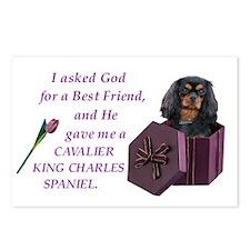 Cavalier (Black & Tan) Postcards (Package of 8)