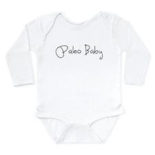 Paleo Baby - Black Long Sleeve Infant Bodysuit
