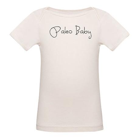 Paleo Baby - Black Organic Baby T-Shirt