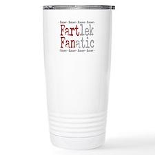 Funny FARTlek FANatic © Travel Coffee Mug