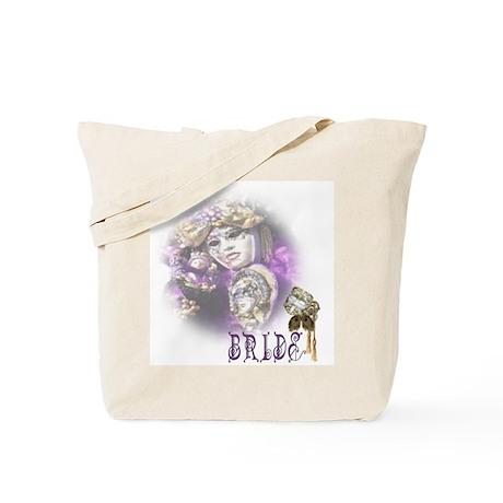 Venezia Purple Bride Tote Bag