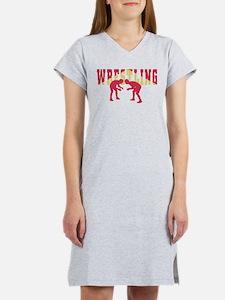 Wrestling 2 Women's Nightshirt