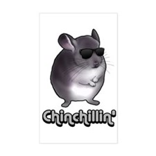 Chinchillin' 2 Gifts Decal
