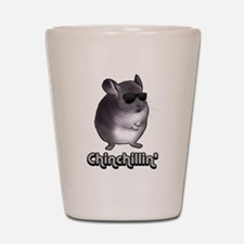 Chinchillin' 2 Gifts Shot Glass