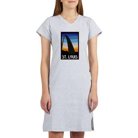 St. Louis Arch Women's Nightshirt