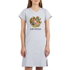 Armenian Coat of Arms Women's Nightshirt