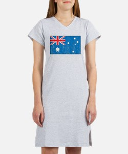 Australia Flag Women's Nightshirt