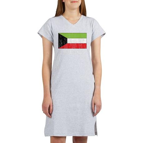 Kuwait Flag Women's Nightshirt