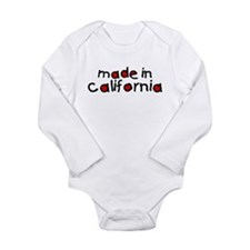California Long Sleeve Infant Bodysuit