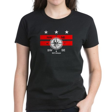 DC Flag and Compass Women's Dark T-Shirt