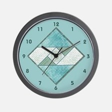 Funny Vintage quilt Wall Clock