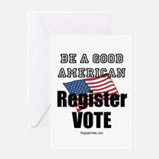 Register Vote Greeting Card