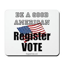 Register Vote Mousepad