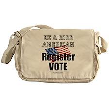 Register Vote Messenger Bag