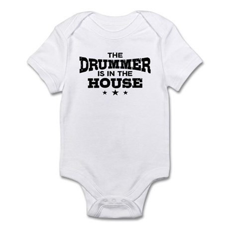 Funny Drummer Infant Bodysuit