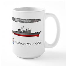 USS Bunker Hill (CG-52) Mug