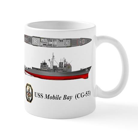 USS Mobile Bay (CG-53) Mug