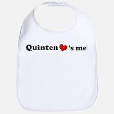 Quinten loves me Bib