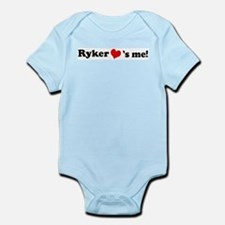 Ryker loves me Infant Creeper