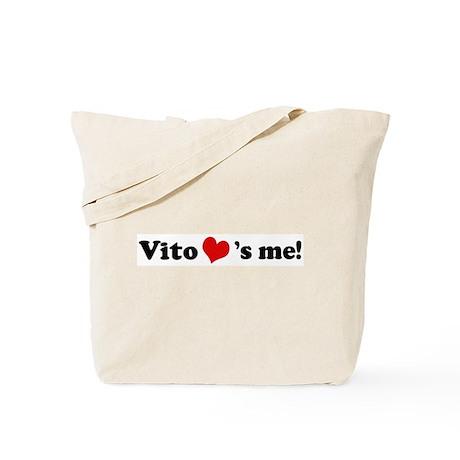 Vito loves me Tote Bag