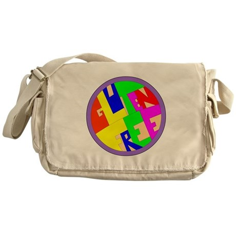 Gluten free Messenger Bag