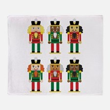 Nutcracker Suite Throw Blanket
