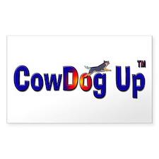 """""""CowDog Up"""" TM Decal"""