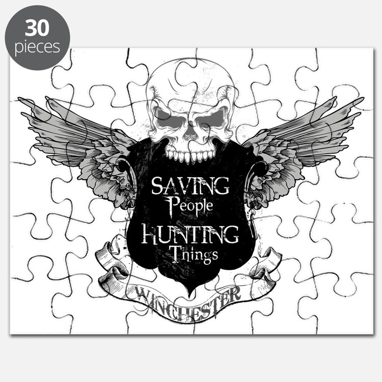 Winchester Family Crest Puzzle