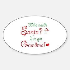 Who needs Santa? Decal