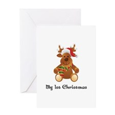 My 1st Christmas! Greeting Card