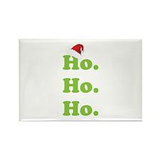 Ho.Ho.Ho. Rectangle Magnet
