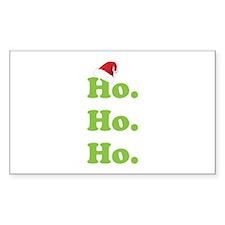 Ho.Ho.Ho. Decal