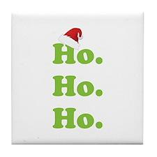 Ho.Ho.Ho. Tile Coaster