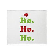 Ho.Ho.Ho. Throw Blanket