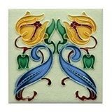 Art nouveau tile Drink Coasters