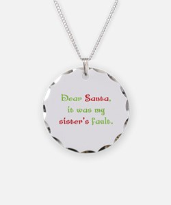 Dear Santa Necklace
