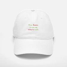 Dear Santa Baseball Baseball Cap