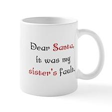 Dear Santa Mug