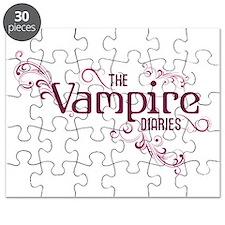 The Vampire Diaries purple Puzzle