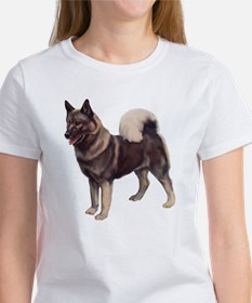 Norwegian elkhound Portrait Women's T-Shirt