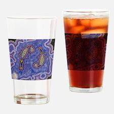 Platapus Dreaming Drinking Glass