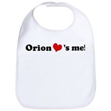 Orion loves me Bib