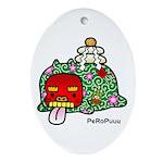 PeRoPuuu7 Ornament (Oval)