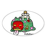 PeRoPuuu7 Sticker (Oval)