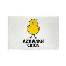 Azawakh Chick Rectangle Magnet (10 pack)