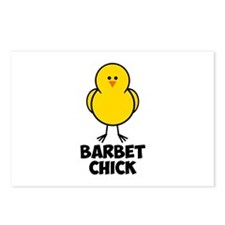 Barbet Chick Postcards (Package of 8)