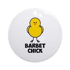 Barbet Chick Ornament (Round)