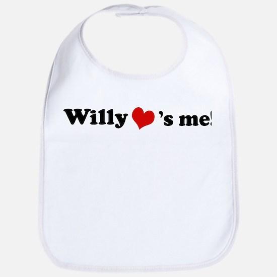 Willy loves me Bib