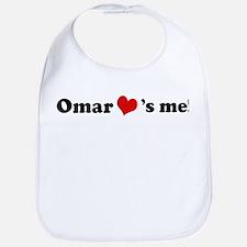 Omar loves me Bib