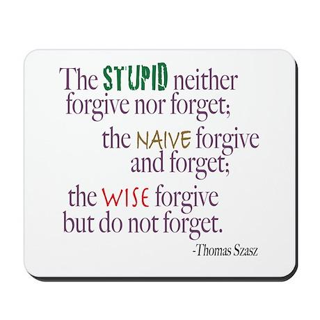 Forgive Mousepad